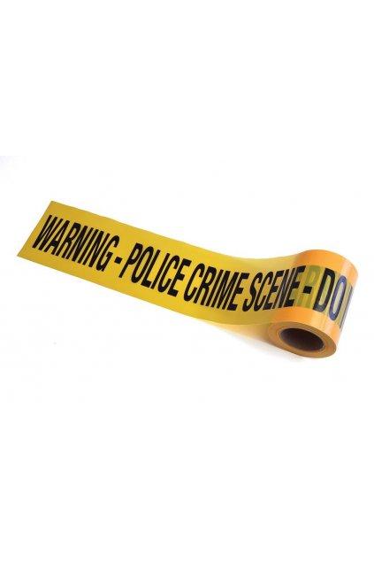 Policejní páska - místo činu