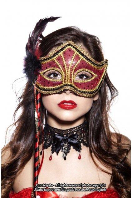 Dámská benátská maska