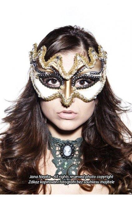 Benátská maska pánská i dámská