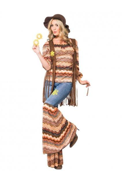 Hippie děvče kostým