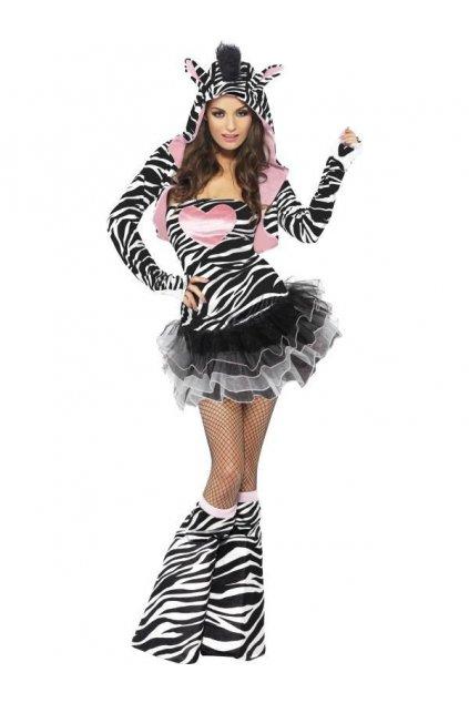 Sexy kostým Zebra