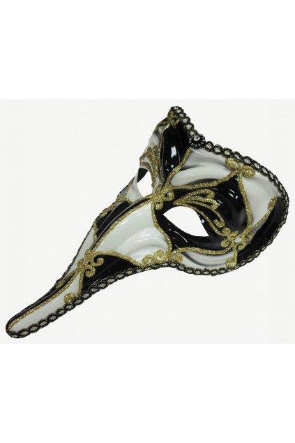 Benátská maska s nosem