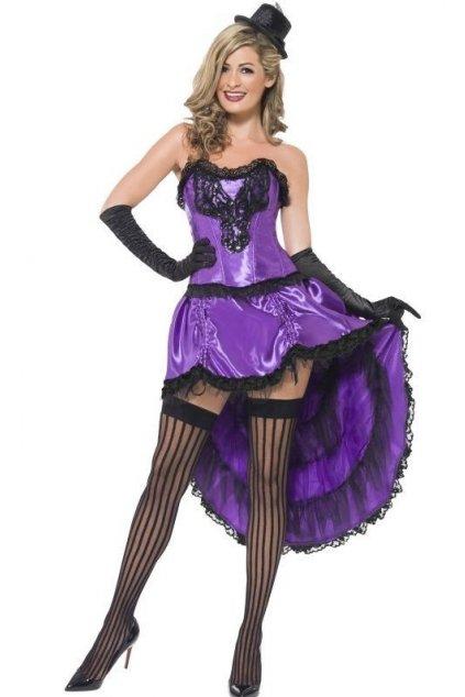 Kostým - Burlesque - fialová