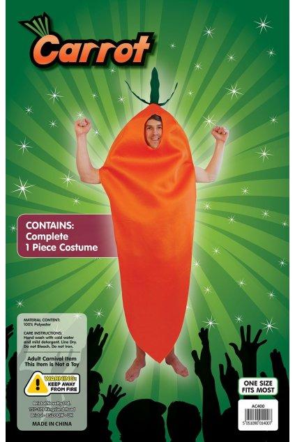 Kostým mrkev