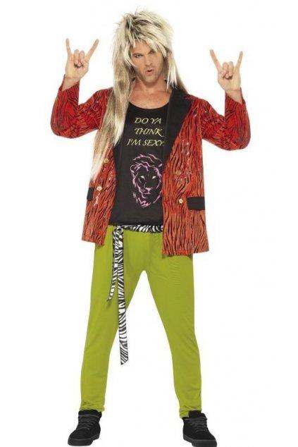 Kostým - 80s Rock Star
