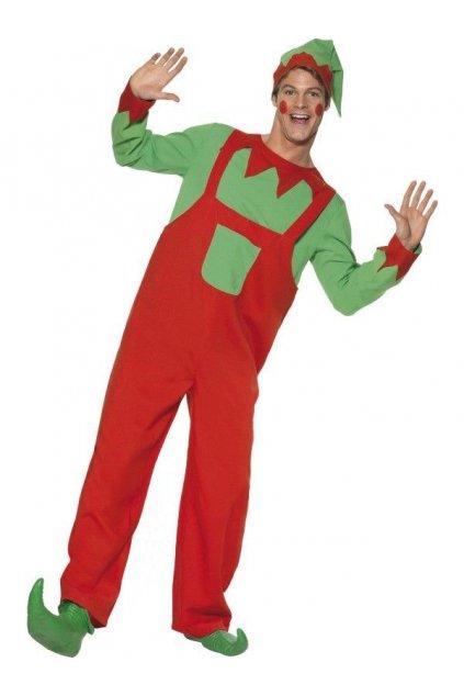 Elf - pánský vánoční kostým