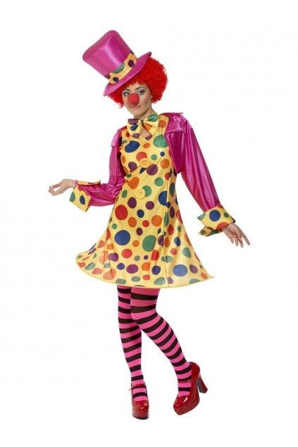 Kostým klaun dámský s punčochama