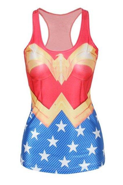 Sexy tílko Wonder Woman