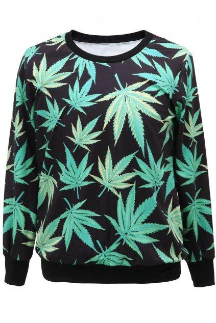 Dámská mikina Marihuana
