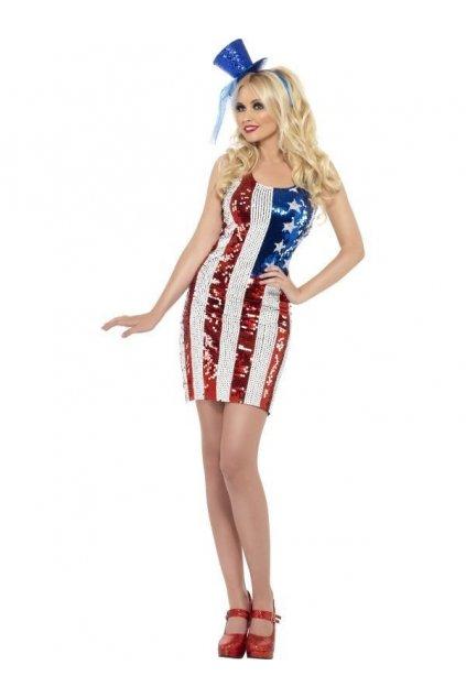 Kostým - Američanka