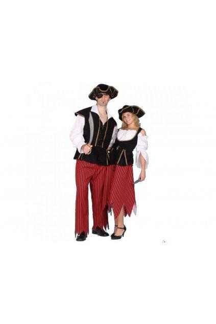 Kostým pirát - kvalitní