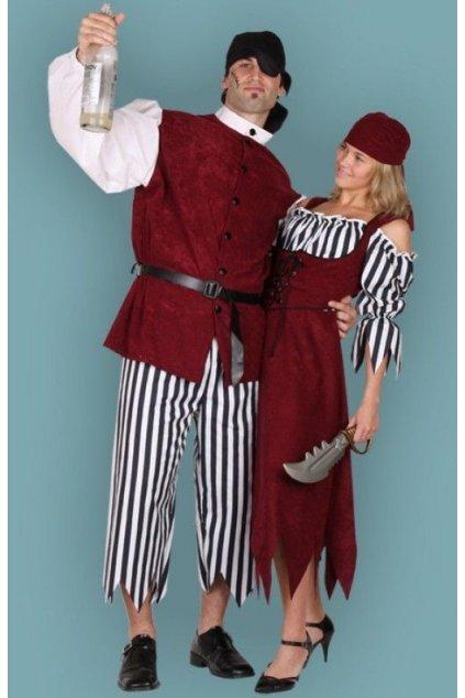 Pirátský kostým - kvalitní