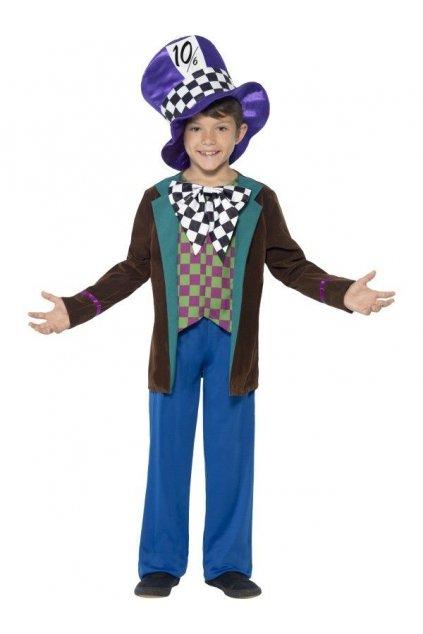 Dětský kostým Kloboučníka z Alenky