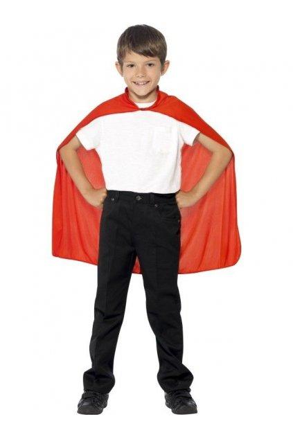 Dětský červený plášť