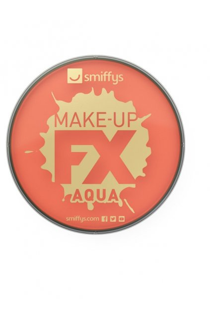 Make-up oranžový