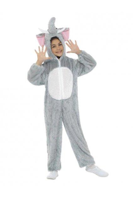 Dětský kostým - Slon - 4-6 let