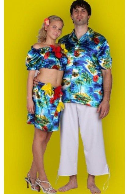 Pánská košile havaj