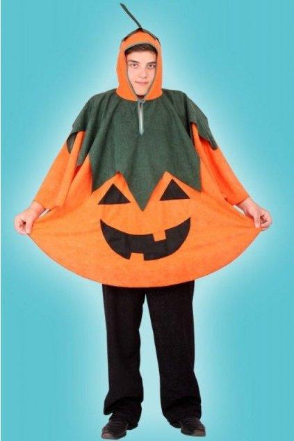 Kostým halloweenské dýně - pončo