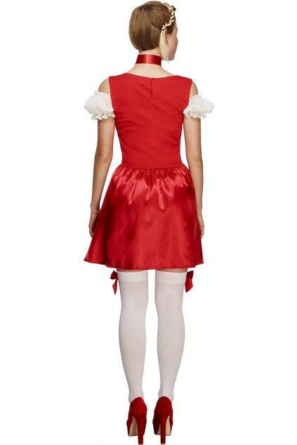 Kostým bavorka červená
