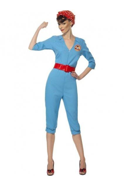 Kostým - Factory Girl