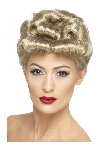 Paruka - Vintage Blond - 40.léta