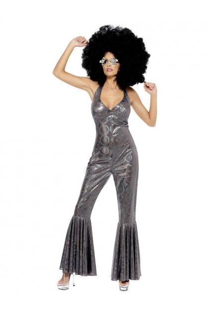 Kostým - Silver Diva - 70'