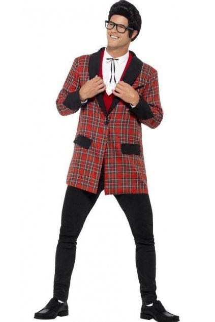Kostým - Teddy Boy - 50' - červený