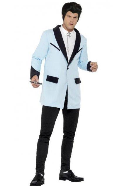 Kostým - Teddy Boy - 50' - modrý