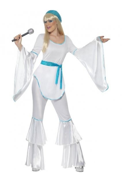 Kostým - Super Trooper - 70' - bílý