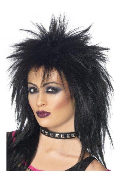 Paruka - Rock Diva - černá