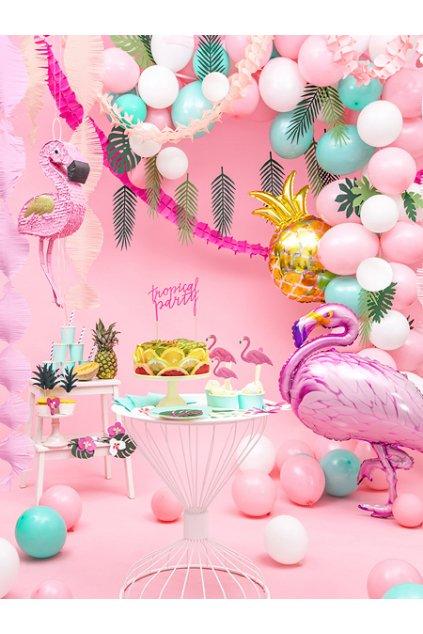 Nafukovací balónek světle růžový - 27 cm