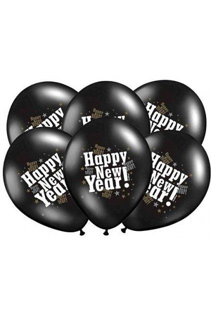 Nafukovací balónek Happy New Year - 36cm