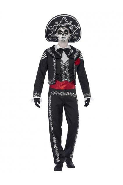 Pánský kostým Seňor Muerte - Day of the Dead