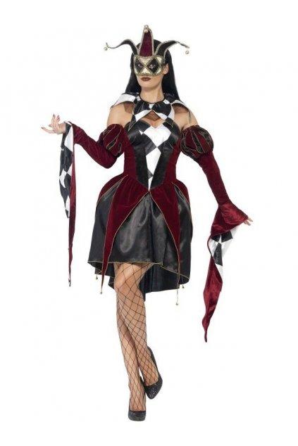 Kostým Benátská Harlequinka