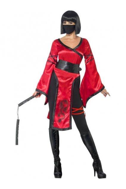 Kostým Ninja bojovnice