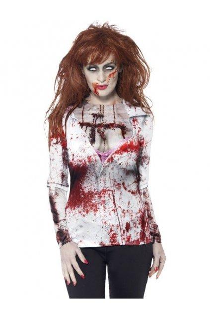 Kostým zombie - krvavý top