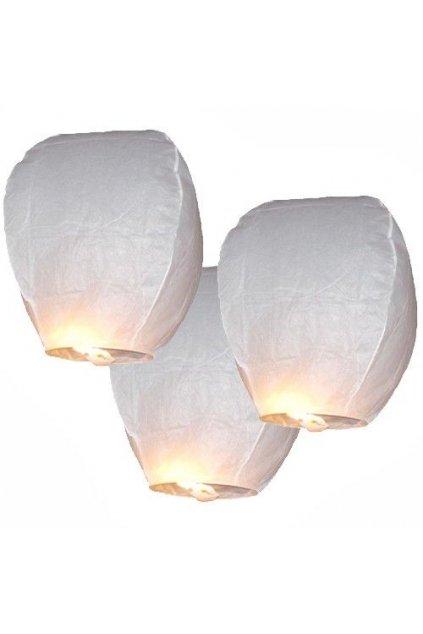 Lampion štěstí bílý - II.JAKOST