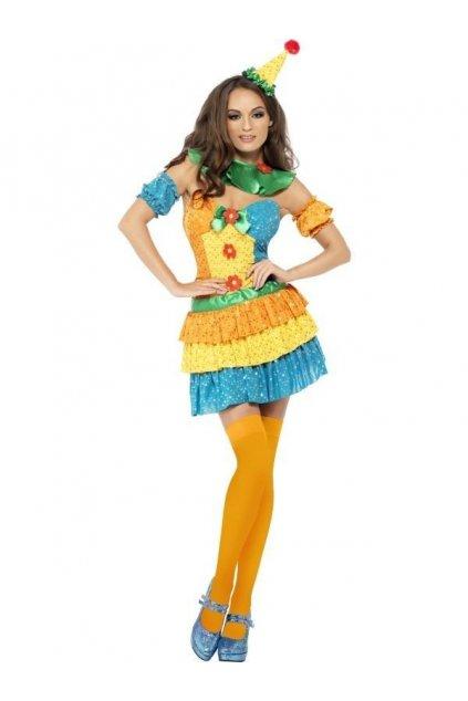 Sexy klaun - dámský kostým
