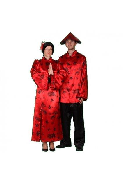 Kostým Číňanky