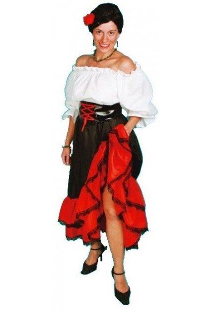 Kostým Španělka Carmen
