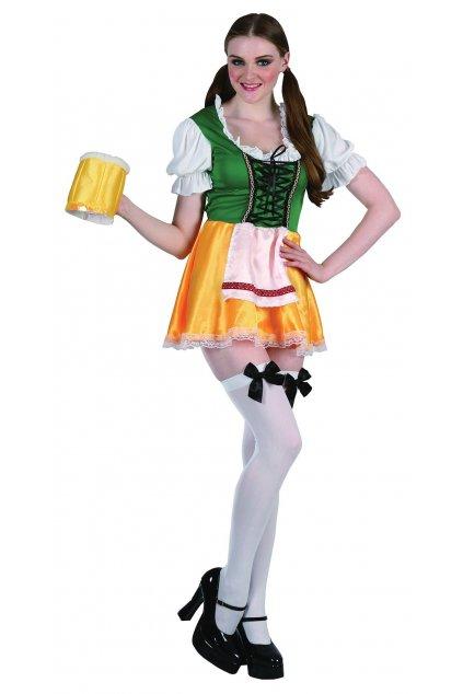 Kostým Bavorka žlutá