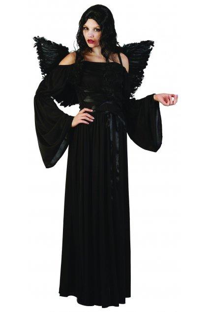 Kostým anděl černý
