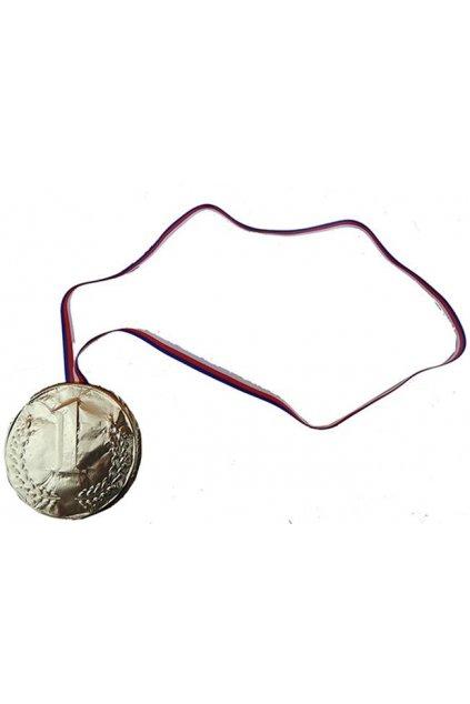Medaile čokoládová - 1. místo