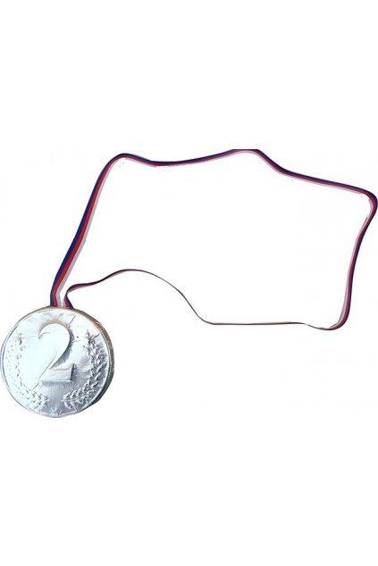 Medaile čokoládová - 2. místo