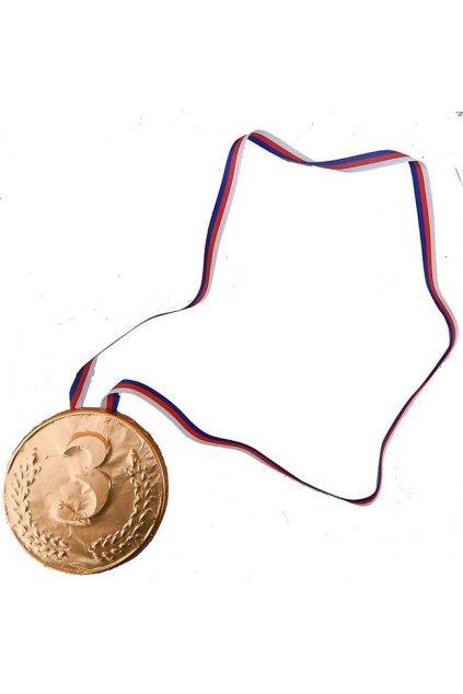 Medaile čokoládová - 3. místo