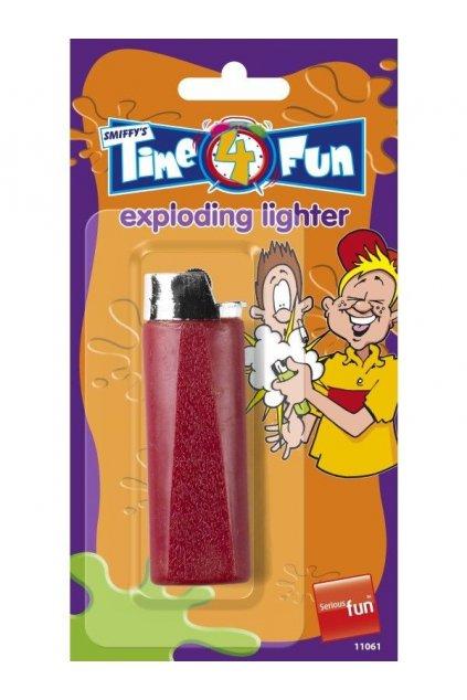 Explodující zapalovač