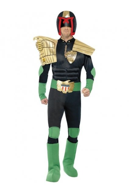 Kostým Soudce Dredd