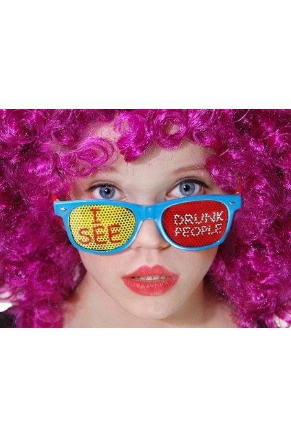 Párty brýle - vidím opilé lidi