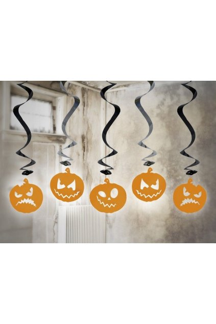 Dekorace na Halloween - dýně