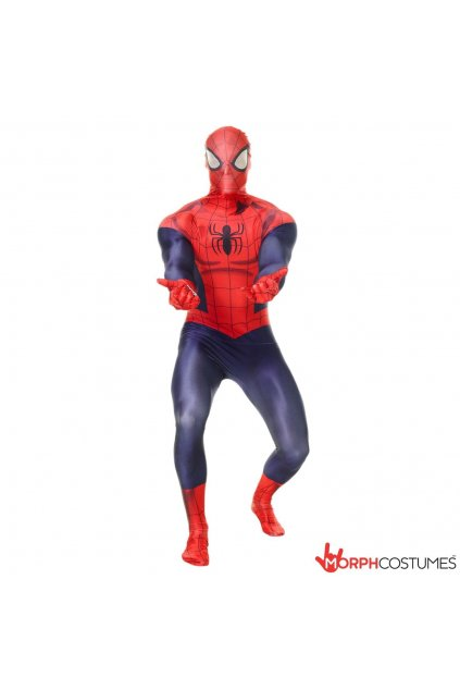 Kostým Spiderman deluxe - licence Marvel